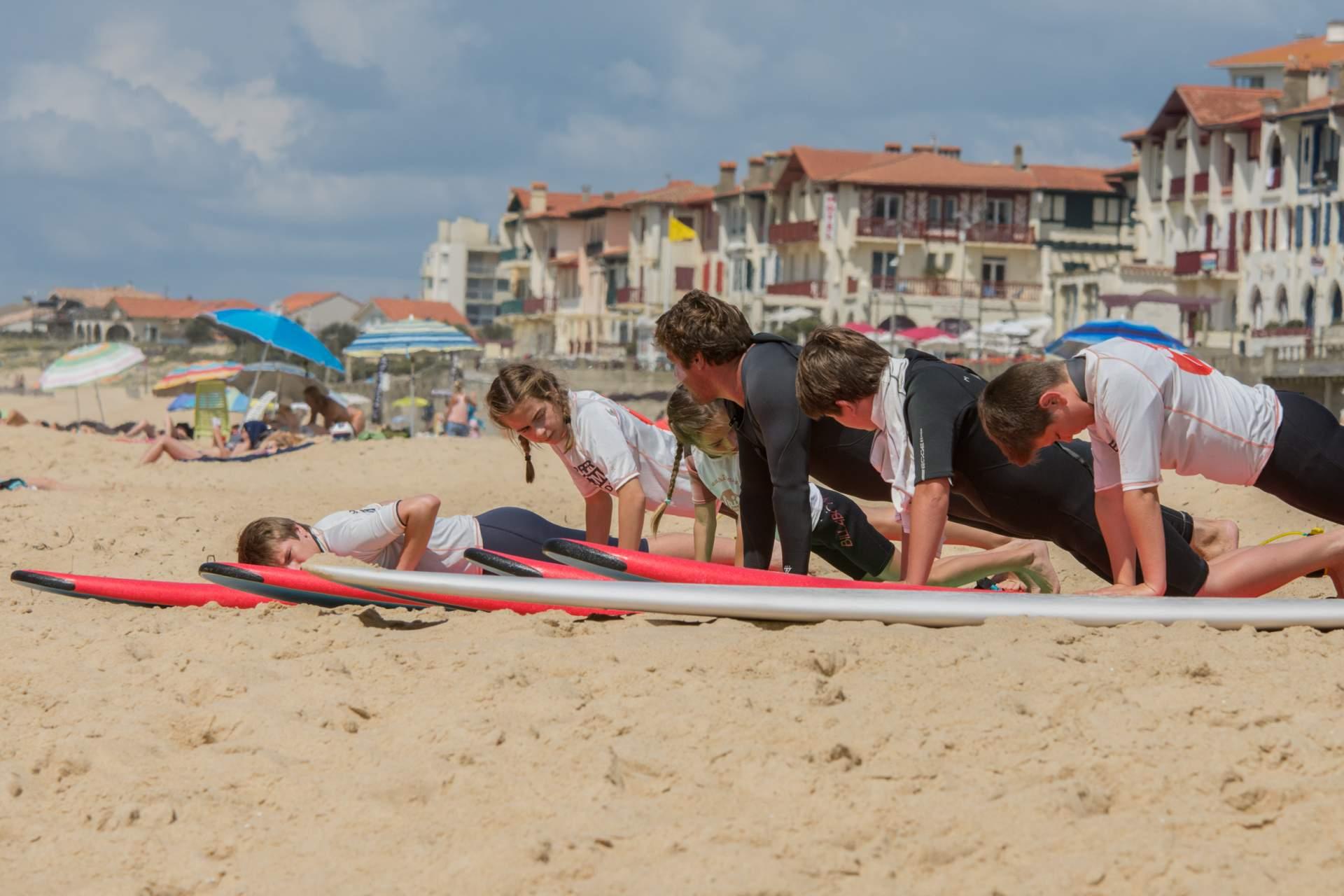 Forfait surf semaine Capbreton 5j