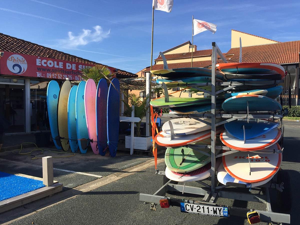 L'enseignement, la pédagogie et la méthode du surf