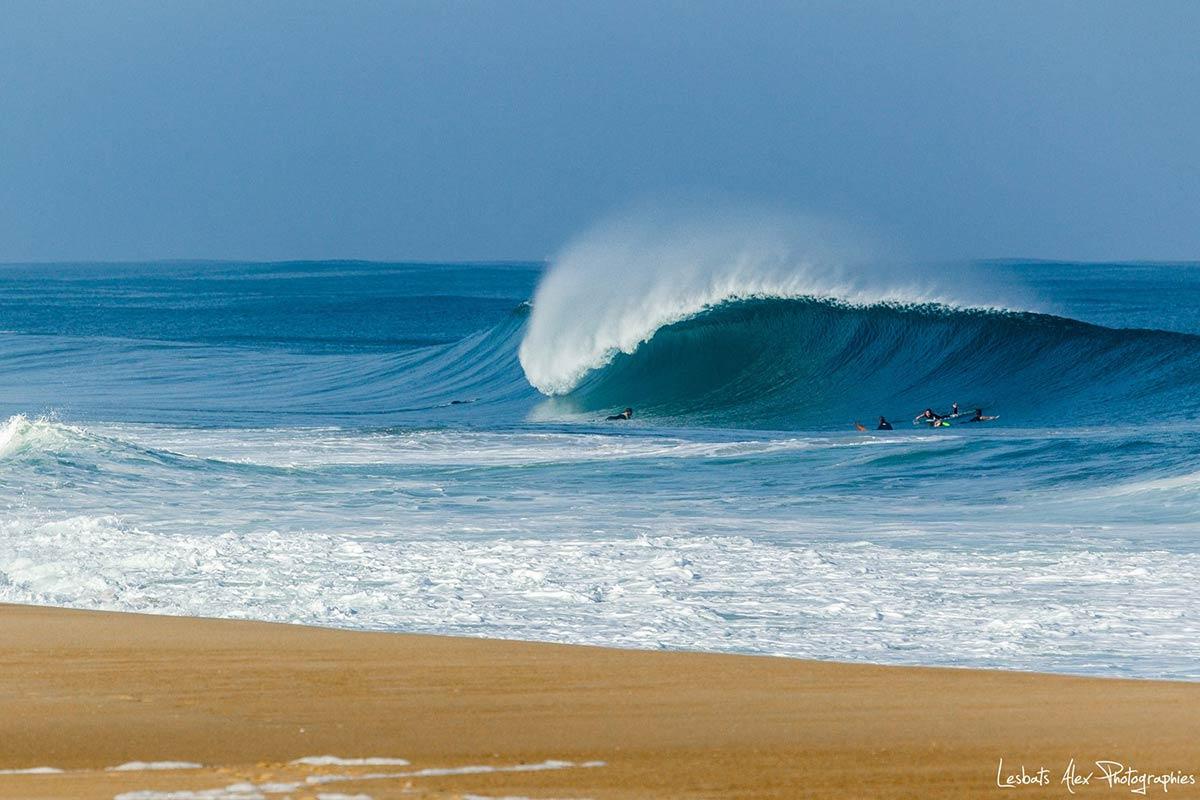 Groupes de surf à Capbreton